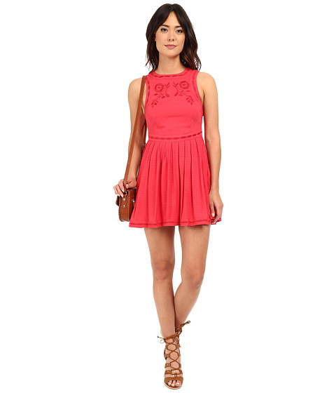 Imbracaminte Femei Free People Birds of A Feather Mini Dress Paradise Coral