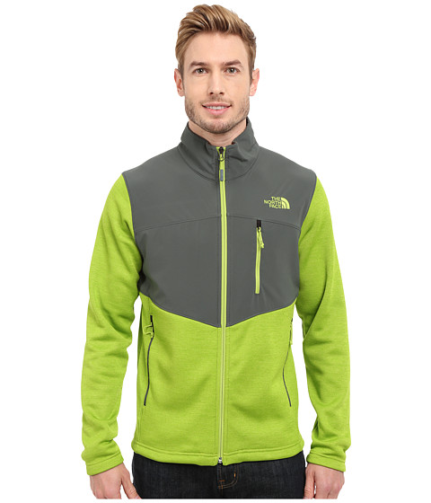 Imbracaminte Barbati The North Face Norris Full Zip Macaw Green HeatherSpruce Green