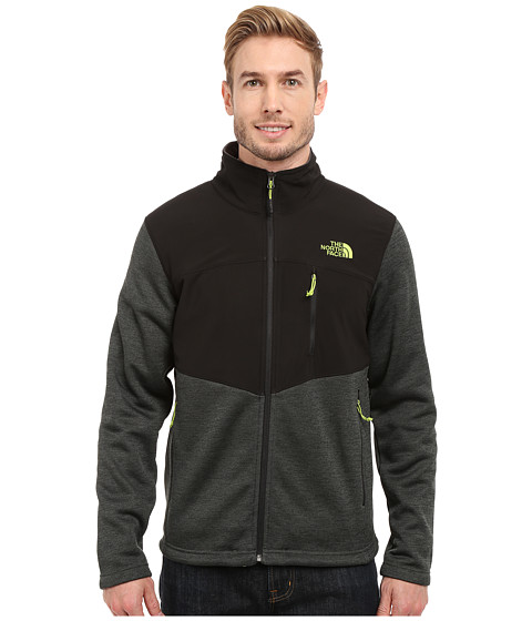 Imbracaminte Barbati The North Face Norris Full Zip Spruce Green HeatherTNF Black
