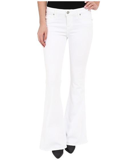 Imbracaminte Femei Hudson Mia Barefoot Length Flare in White 2 White 2