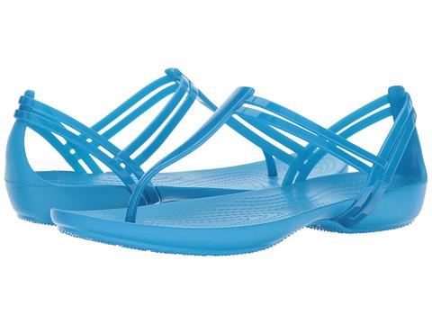 Incaltaminte Femei Crocs Isabella T-Strap Blue