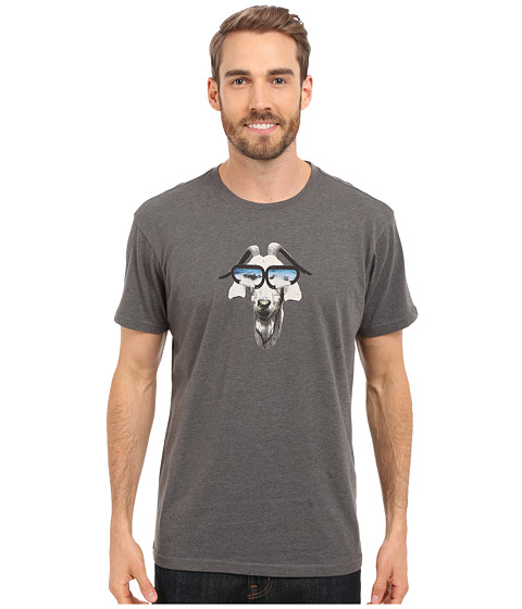 Imbracaminte Barbati Prana Goat Slim Fit Tee Charcoal Heather