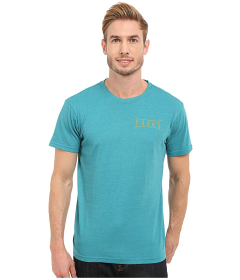Imbracaminte Barbati Prana Untouched Slim Fit Tee Retro Teal Heather
