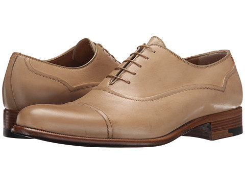 Incaltaminte Barbati A Testoni Black Label Delave Calf Oxford Nude