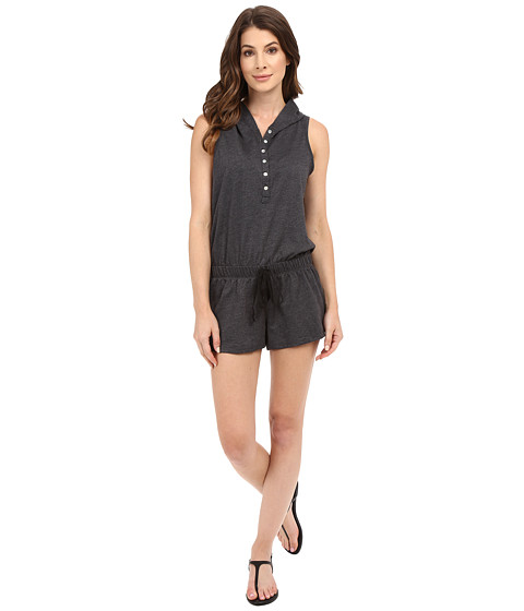 Imbracaminte Femei Culture Phit Cassia Button Up Hoodie Romper Charcoal