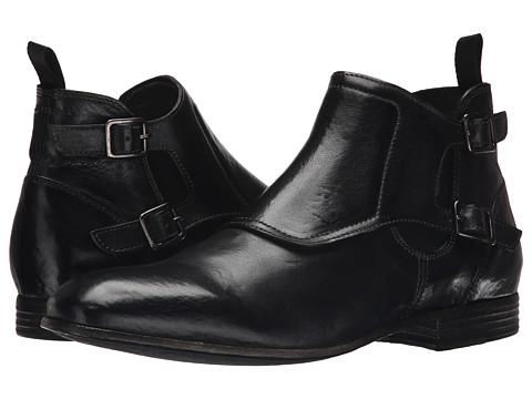 Incaltaminte Barbati Alexander McQueen Double Buckle Boot Black