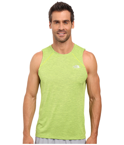 Imbracaminte Barbati The North Face Ambition Tank Top Macaw Green Heather