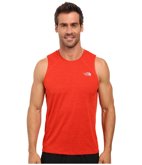 Imbracaminte Barbati The North Face Ambition Tank Top Pompeian Red Heather