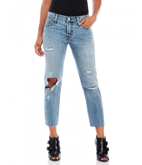 Imbracaminte Femei Levi's Time Goes By 501 CT Cropped Jeans Time Goes By