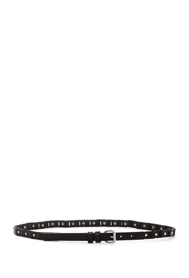 Accesorii Femei Linea Pelle Studded Link Belt BLACK