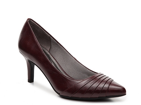Incaltaminte Femei LifeStride Stacy Pump Burgundy