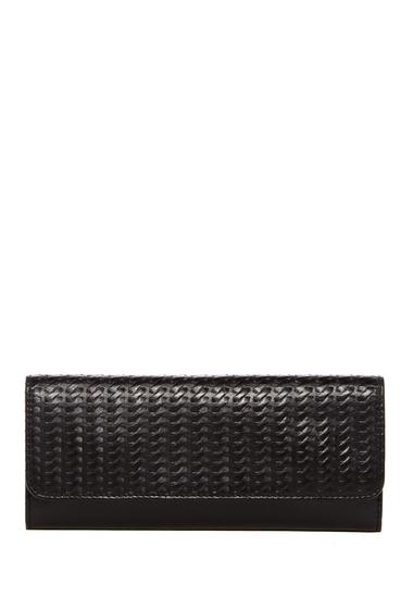 Accesorii Femei Hobo Sadie Leather Wallet EMBOSSED BLACK