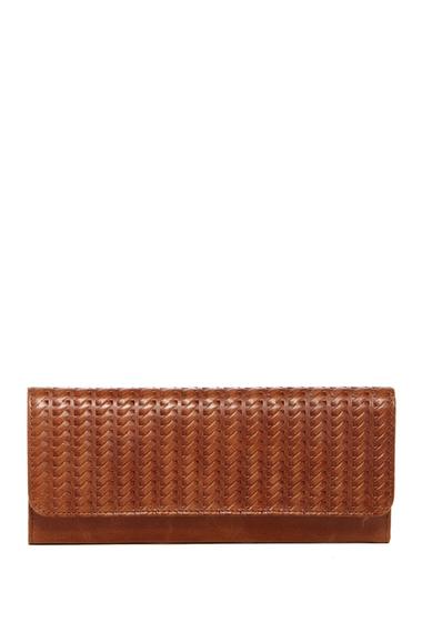 Accesorii Femei Hobo Sadie Leather Wallet EMBOSSED RUSSET