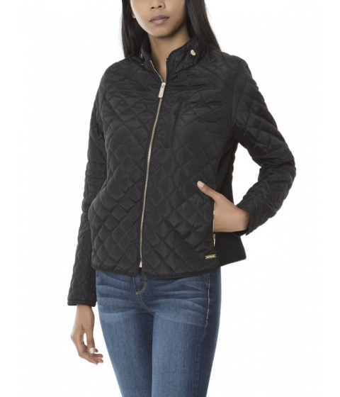 Imbracaminte Femei US Polo Assn QUILTED MOTO JACKET Black