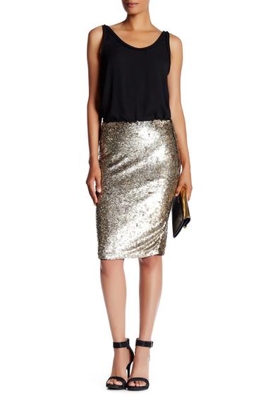 Imbracaminte Femei Trina Turk Kalina Sequin Skirt GOLD