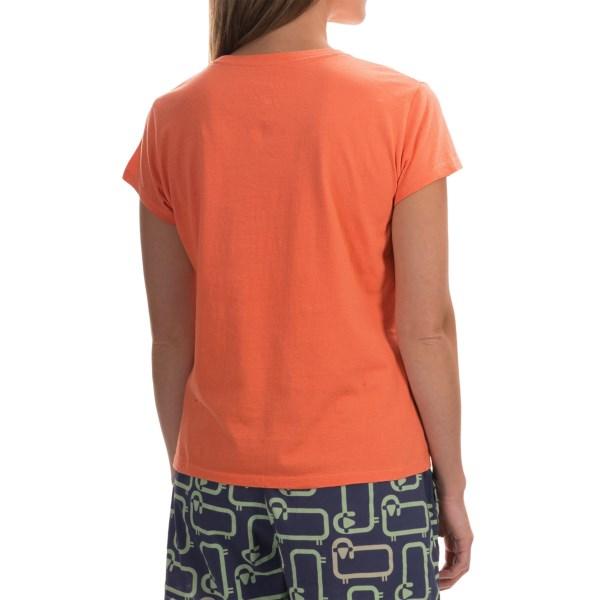 Imbracaminte Femei Woolrich Four Corners Graphic T-Shirt - Short Sleeve GUAVA (02)