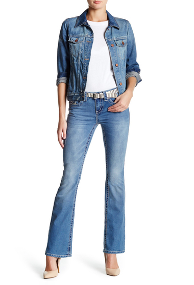 Imbracaminte Femei Seven7 Jeans Big Stitched Bootcut Jean HERMOSA
