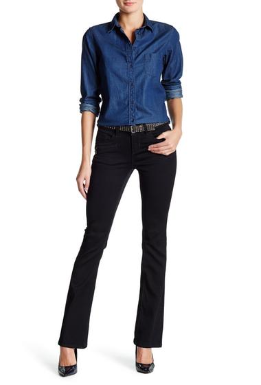 Imbracaminte Femei Seven7 Jeans Slim Bootcut Zip Jean FAWN