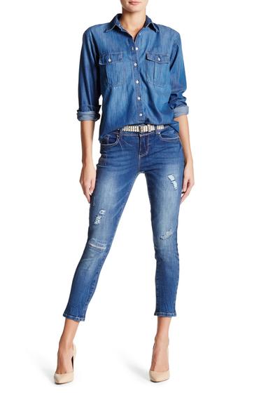 Imbracaminte Femei Seven7 Jeans Skinny Ankle Jean MISFIT