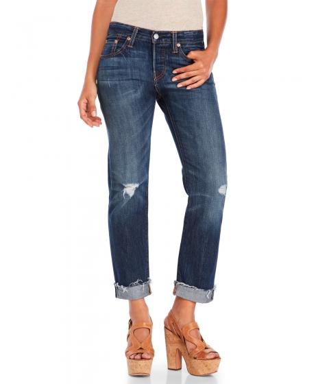 Imbracaminte Femei Levi's Dark West 501 CT Tapered Leg Jeans Dark West