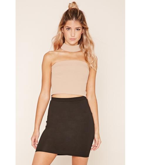 Imbracaminte Femei Forever21 Stretch Knit Mini Skirt Black