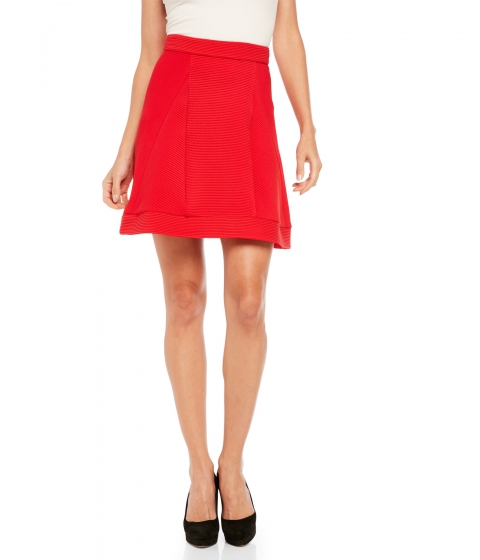 Imbracaminte Femei Sonia By Sonia Rykiel Textured Woven Skirt Red