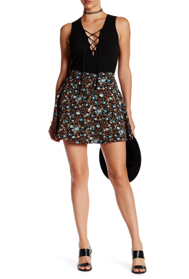 Imbracaminte Femei Harlowe Graham Floral Flared Circle Skirt DITZY FLRL