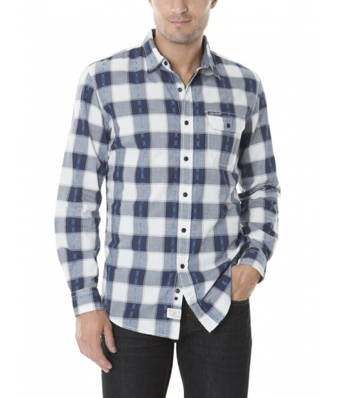 Imbracaminte Barbati US Polo Assn CLASSIC FIT LONG SLEEVE PLAID SHIRT White Winter
