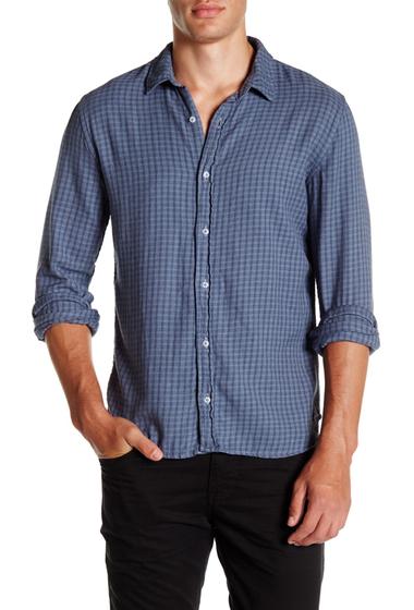Imbracaminte Barbati SAVE KHAKI Long Sleeve Clean Flannel Shirt G BLUE GRD