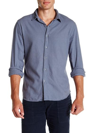 Imbracaminte Barbati SAVE KHAKI Long Sleeve Clean Flannel Shirt GOOD BLUE