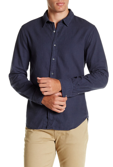 Imbracaminte Barbati SAVE KHAKI Long Sleeve Clean Flannel Shirt MARINE
