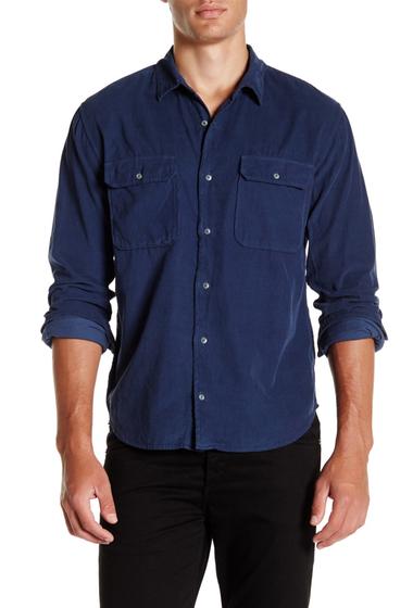 Imbracaminte Barbati SAVE KHAKI Long Sleeve Baby Cord Camp Shirt CLASIC NVY
