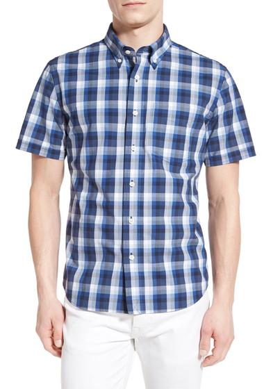 Imbracaminte Barbati Jack Spade Caulfield Trim Fit Gingham Sport Shirt BLUE