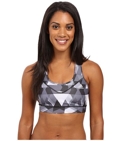 Imbracaminte Femei adidas Techfit Bra - Boost Print Black PrintMatte Silver