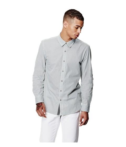 Imbracaminte Barbati GUESS Tarver Printed Shirt true white