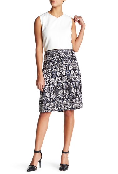 Imbracaminte Femei Max Studio Printed A-Line Skirt BKBJBLBP