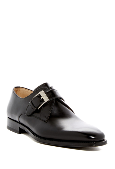 Incaltaminte Barbati Magnanni Tudanca Buckle Dress Shoe BLACK