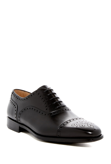 Incaltaminte Barbati Magnanni Cieza Semi Brogue Oxford BLACK