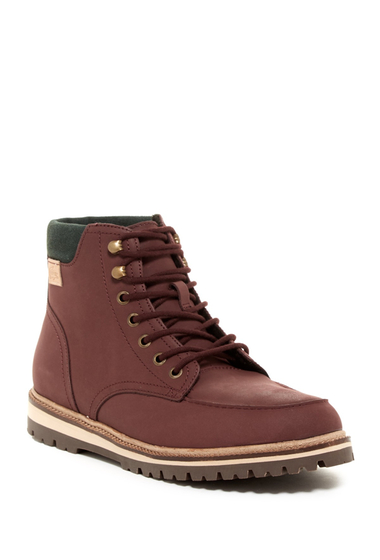 Incaltaminte Barbati Lacoste Montbard Lug Boot DARK BROWN