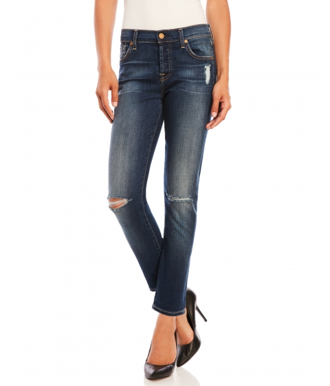 Imbracaminte Femei 7 For All Mankind Josefina Skinny Boyfriend Jeans Sunnyvale Medium