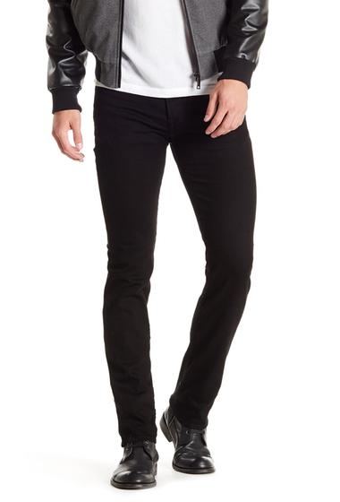 Imbracaminte Barbati 7 For All Mankind Slimmy Slim Fit Jean TRUEBLACK