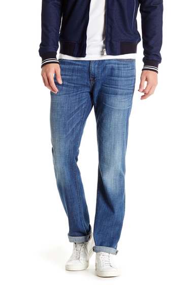Imbracaminte Barbati 7 For All Mankind Standard Slim Straight Jean WITTMANN B