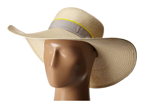 Accesorii Femei Michael Stars Made in the Shade Floppy Hat Chalk