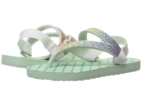 Incaltaminte Fete Sanuk Lil Selene Crystal (ToddlerLittle Kid) RainbowMisty Mint
