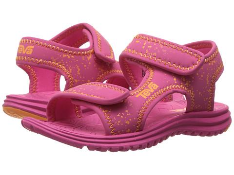 Incaltaminte Fete Teva Tidepool (ToddlerLittle KidBig Kid) PinkOrange Splatter