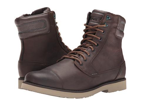 Incaltaminte Barbati Teva Durban Tall Leather Brown