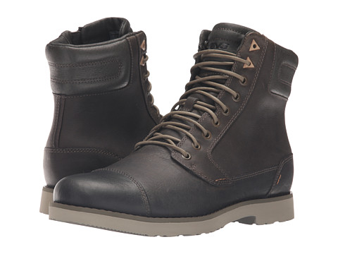 Incaltaminte Barbati Teva Durban Tall Leather Dark Olive
