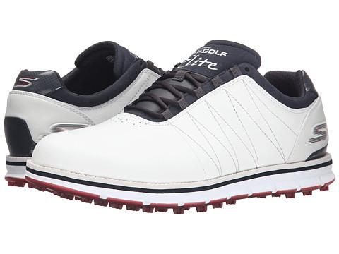 Incaltaminte Barbati SKECHERS Go Golf Tour Elite WhiteNavyRed