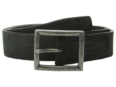 Accesorii Barbati John Varvatos 35mm Full Weight Harness Leather Belt Black