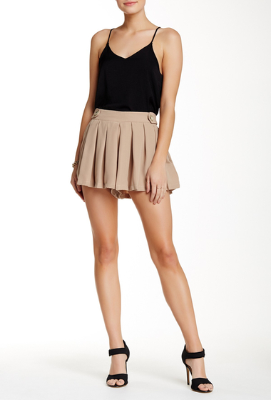 Imbracaminte Femei Lily White Pleated Shorts TAUPE